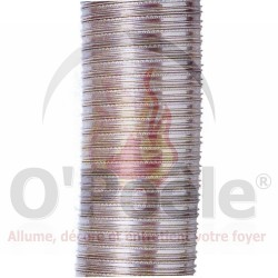 Tubage flexible en inox (316L)