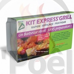Allume Barbecue KIT EXPRESS GRILL