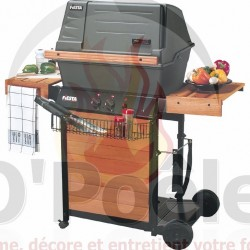 Barbecue bois Madisson Grill rectangle : 53 x 39 cm 81580