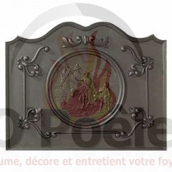 Plaque en fonte Don Quichotte
