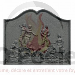 Plaque en fonte Vendanges