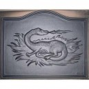 Plaque en fonte Dragon